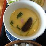 力寿司 - 茶碗蒸し