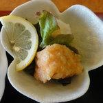 力寿司 - 鮭の南蛮漬け