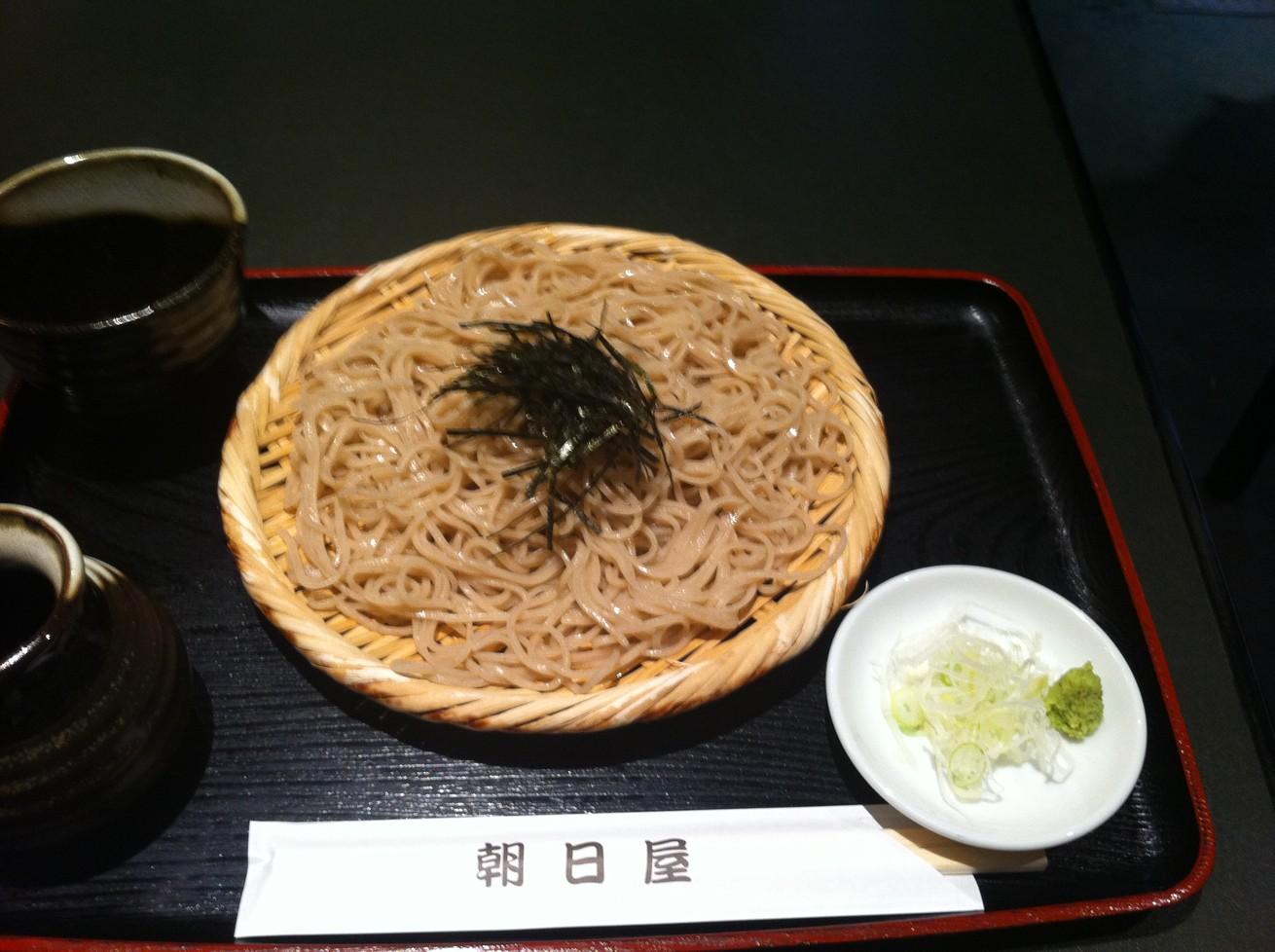 日本そば朝日屋 町屋店