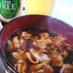 村山温泉 かたくりの湯 - 肉汁