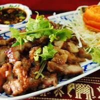 コームーヤーン(豚首肉の焼肉)