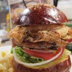 Hungry Heaven - エッグバーガーのアップ