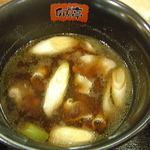 卯どん亭 - 肉汁