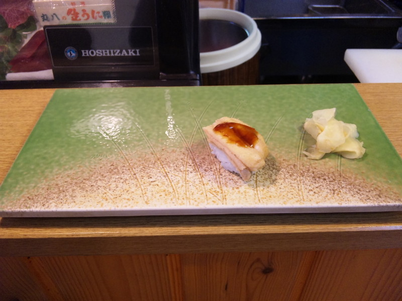 寿司 菜の花