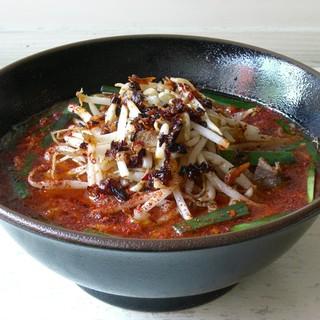 福助 - 料理写真:鶏辛ラーメン
