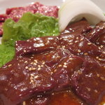 韓国料理とうがらし - ハラミ&レバー