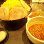 麺屋永吉 花鳥風月 - 特製カリーつけ麺+ダブル盛り