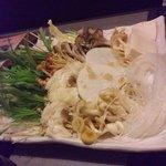 小尾羊 - 野菜盛り合わせ