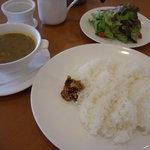 茶語 - 龍井茶葉カレー(サラダ付き) ¥1,260