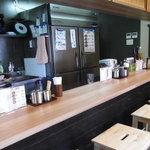 尼崎 たこ焼き 蛸道 - 和食屋みたいな店内