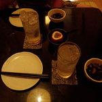 茶里亭 - パッションリキュールソーダ割り&パッションサワーで乾杯!