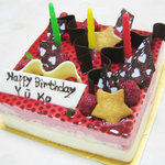 ジャルニー - ジャルニーの誕生日ケーキ♪美味しかった♪