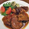 キッチン 膳 - 料理写真:もち豚しそチーズ巻カツ&洋風煮込み