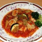 屋久島オリオン - 鶏のトマト煮込み