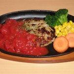 屋久島オリオン - とび魚と豆腐のふわふわハンバーグ