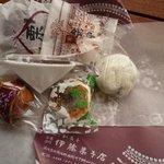 伊藤菓子店 - 料理写真:栗まんじゅう・栗最中・栗どらやき