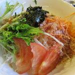 ヱビス ショクドウ - 大根サラダ480円