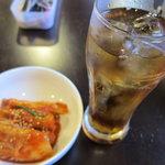 ヱビス ショクドウ - ウーロン茶200円