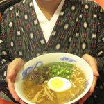 そば処まさや - 福岡の街中の庶民的なお蕎麦屋さんです。人気メニューは非豚骨のラーメン?!