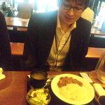 渋谷桜丘町 ろくよん - M山氏は挽肉とお野菜のスパイシーカレーをご注文