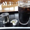 道の駅 但馬楽座 軽食堂 - ドリンク写真:アイスコーヒー ¥350