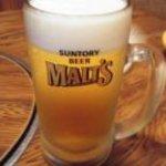 居酒屋るぱん - ドリンク写真:ビール