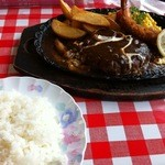 レストランさくら - おすすめハンバーグ