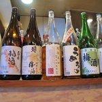 ワラウカド - ブランド梅酒がヅラリ