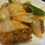 中国広東料理 えん - ランチの酢豚