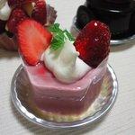 シュセット - 苺のレアチーズ