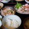 久六 - 料理写真:金目鯛の定食