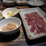 イベリコ豚おんどる焼 裏渋屋 - ハモン・イベリコ