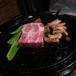 イベリコ豚おんどる焼 裏渋屋 - 厚切りステーキ
