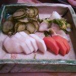 寿司勝 - お新香