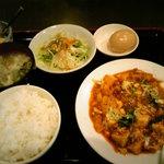ダイレンニイハオ - マーボ豆腐定食