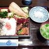 ごはんや デンスケ - 料理写真:日替わり定食(縞ホッケ)750円