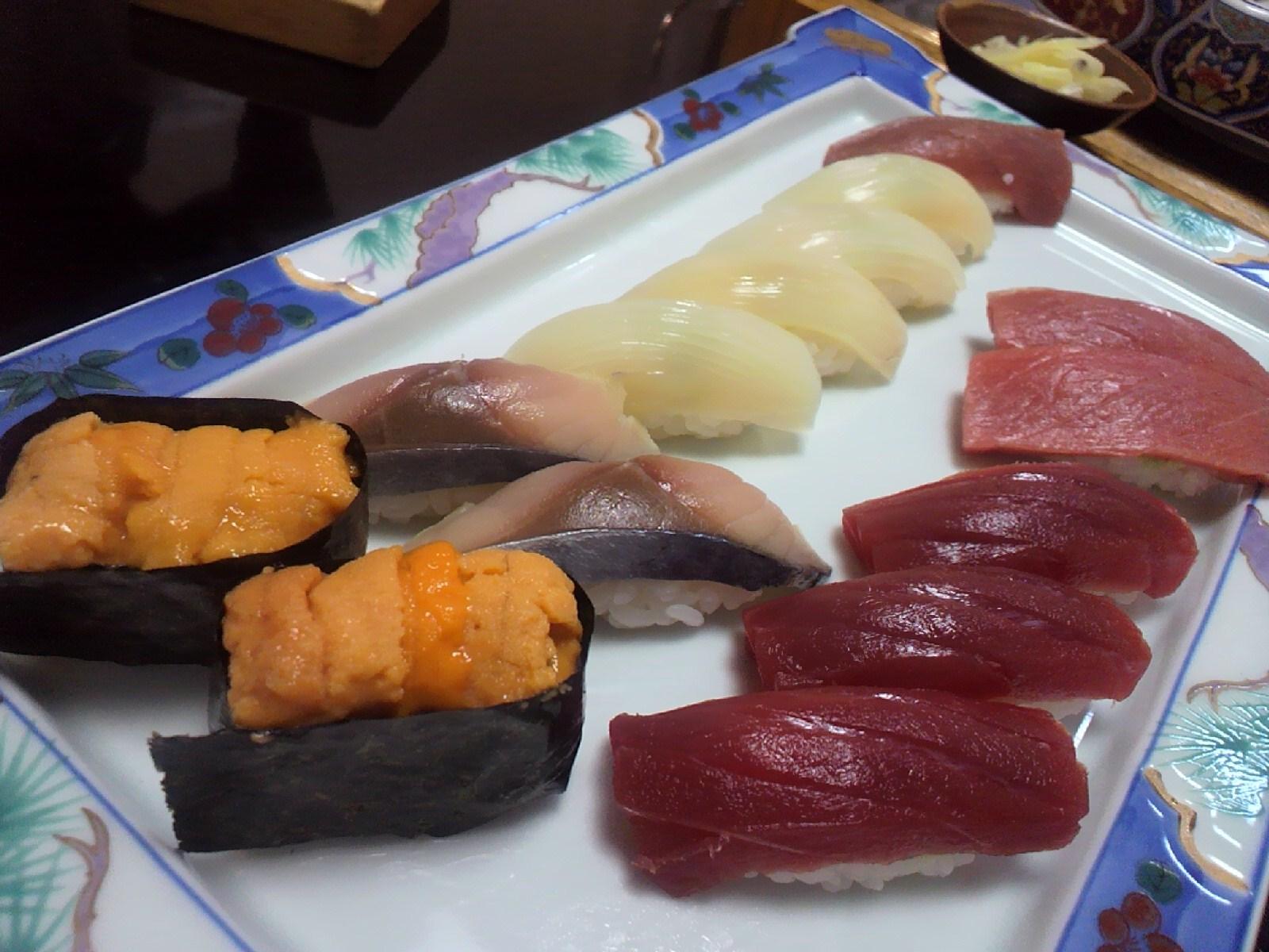 寿司本おくの