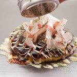 いっかくじゅう - 生地の分量・出汁のとり方や素材・混ぜ方に至るまでこだわったお好み焼き