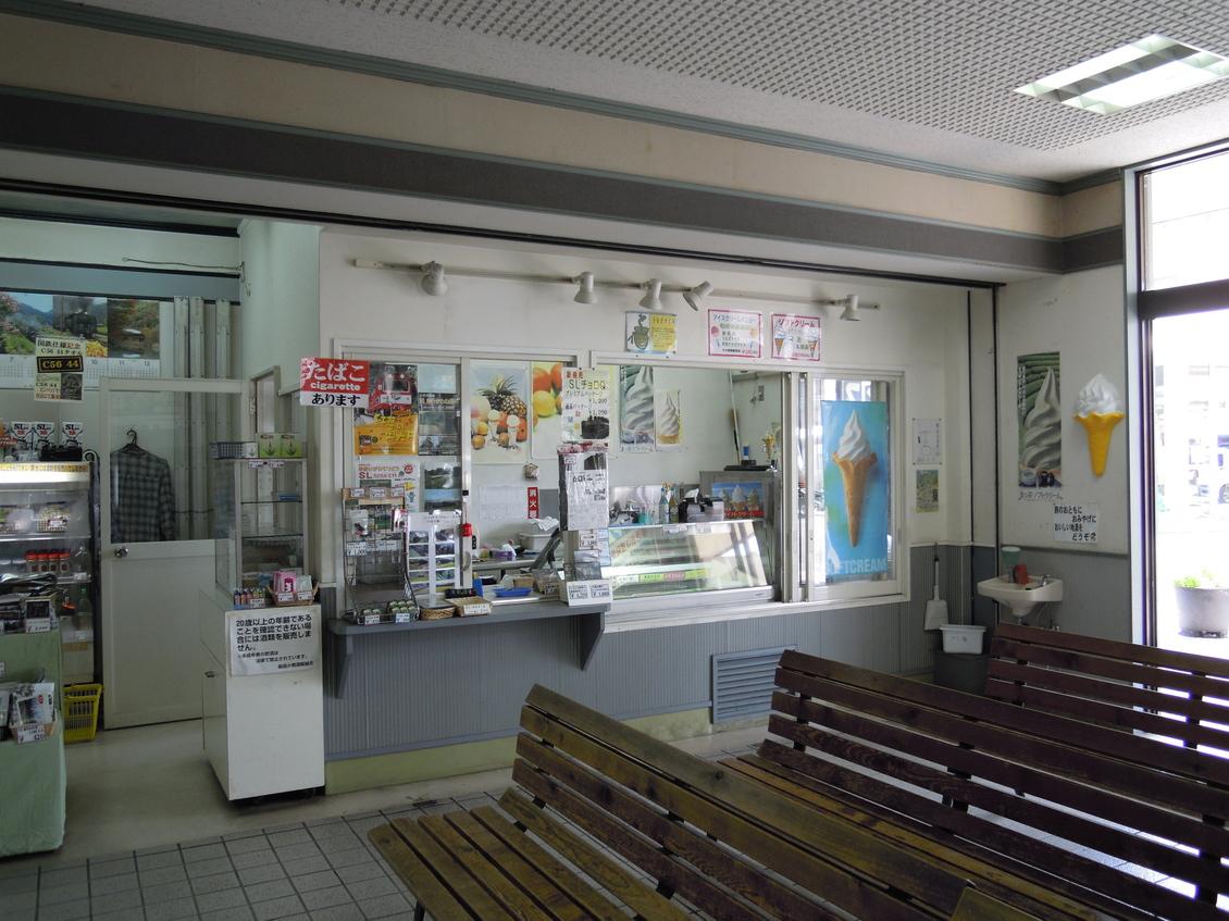 新金谷駅売店
