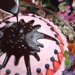 天空の島 WING - 大人気☆☆ぶっかけチョコレートのケーキ