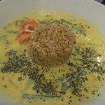 グレイト - 季節野菜のグリーンカレー 玄米