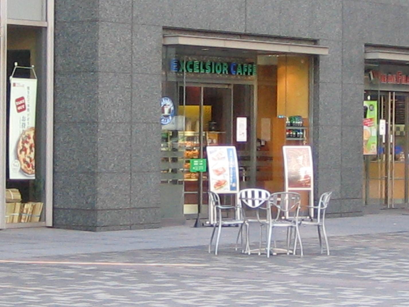 エクセルシオールカフェ  新宿文化クイントビル店