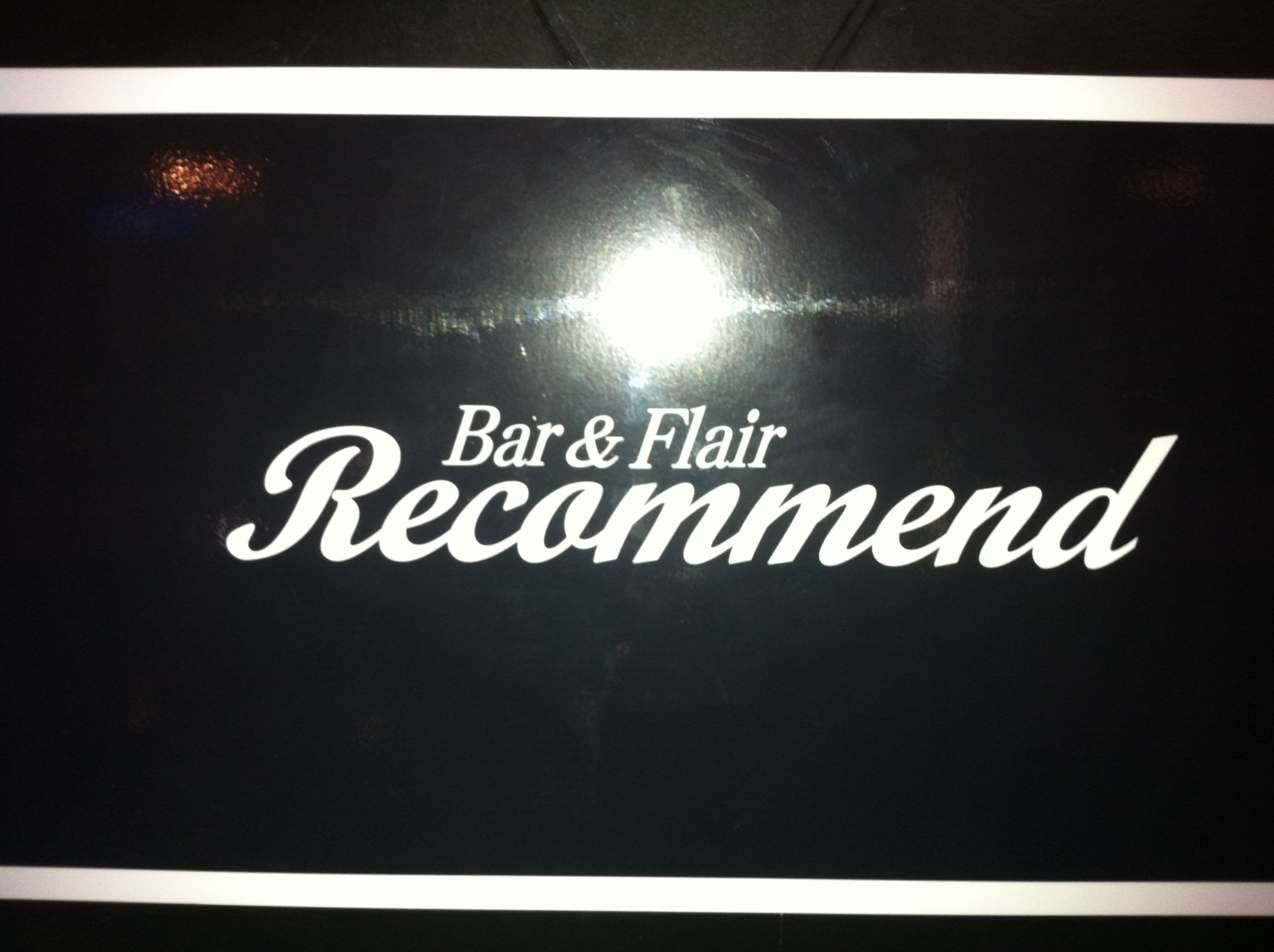 Bar&Flair Recommend