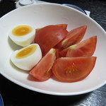 ふくべ - 冷やしトマト