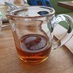 ユーヨーカフェ - お好みでメイプルシロップ