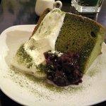 グリーンハウスアクア - 抹茶のシフォンケーキ
