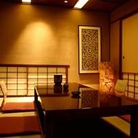 お座敷(掘り炬燵式)の個室が11部屋ございます。