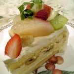 86506 - グロヴナーカフェ ケーキ