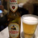 GG - イタリアビールの【モレッティ】¥700