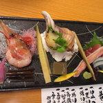 章月グランドホテル - お造り■旬鮮魚介おまかせ